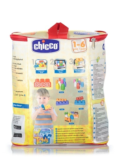 Toy Buıldıng Blocks Bag 70 Pcs-Chicco